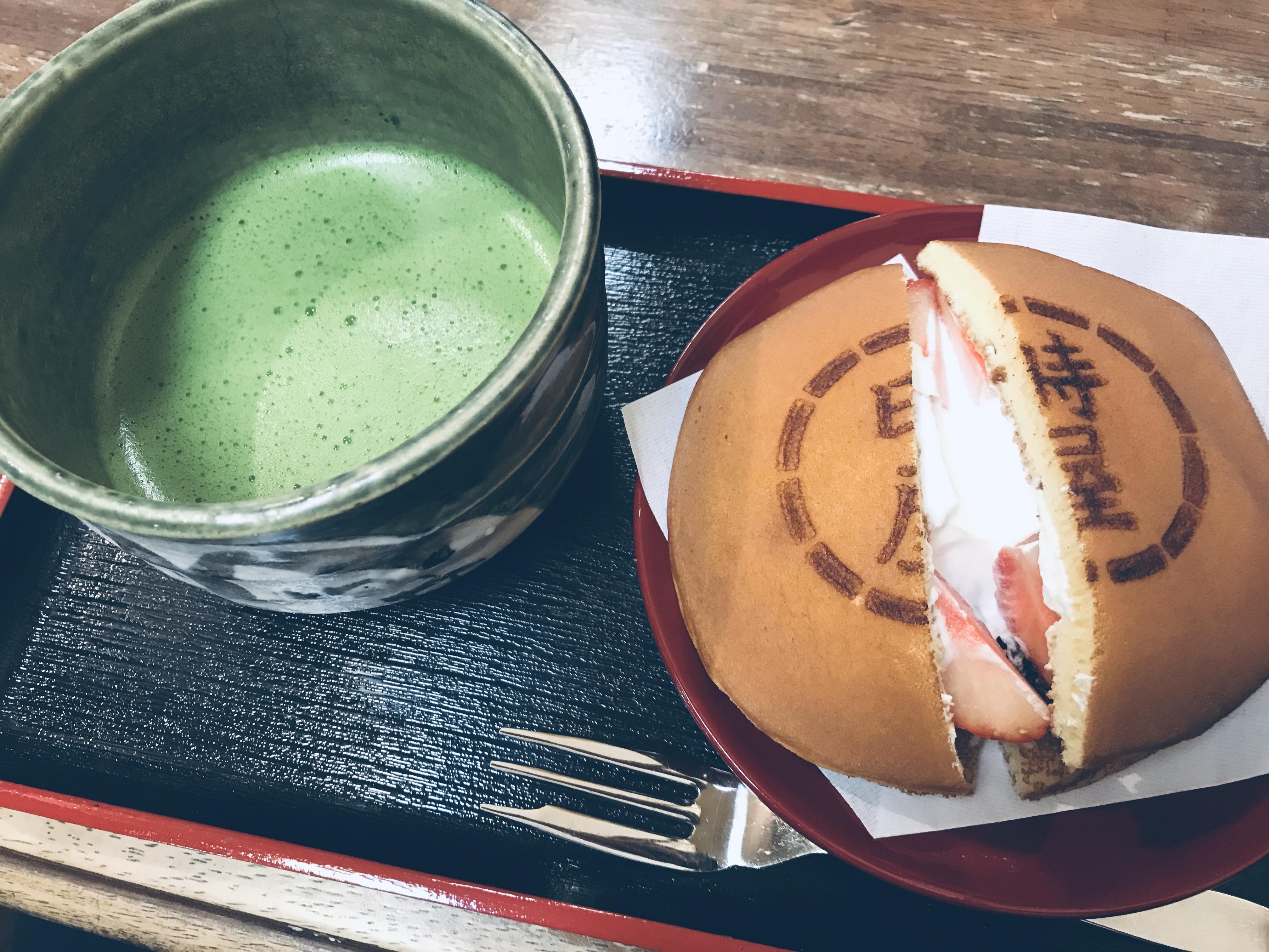 (日本語) 抹茶って。