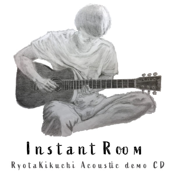 【NEWS】Acoustic demo CD 「Instant Room」&グッズ発売開始